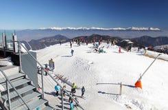 Vue de basses montagnes de Tatras, Slovaquie Image stock