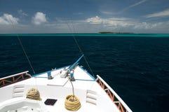 Vue de bateau Image libre de droits