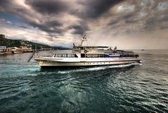 vue de bateau Images stock