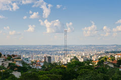 Vue de Belo Horizonte Photo stock
