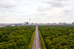 Vue de Berlin Photographie stock