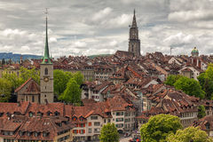 Vue de Berne, Suisse Photographie stock libre de droits