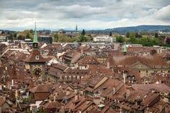 Vue de Berne, Suisse Image stock
