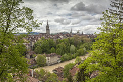 Vue de Berne, Suisse Photo stock
