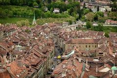Vue de Berne, Suisse Photos stock
