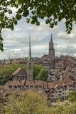 Vue de Berne, Suisse Images libres de droits