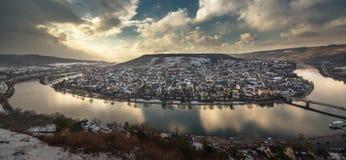 Vue de Bernkastel-Kues photos libres de droits