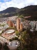 Vue de Bogota moderne, Colombie photo libre de droits