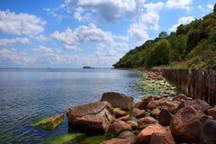 Vue de bord de la mer Images stock