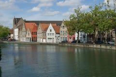 Vue de Bruges Images stock