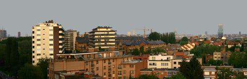 Vue de Bruxelles Images libres de droits