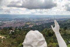 Vue de Bucaramanga Image libre de droits
