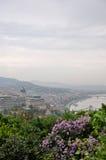 Vue de Budapest image libre de droits