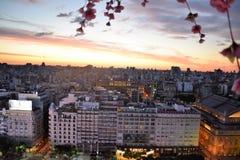 Vue de Buenos Aires, Argentine, 18ème de février de 2017 Photographie stock