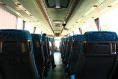 Vue de bus Image libre de droits