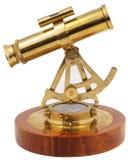 vue de côté décorative d'astrolabe Images stock