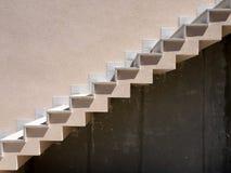 Vue de côté d'escalier Image libre de droits