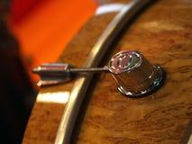 Vue de côté d'un tambour Image libre de droits