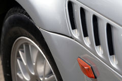 Vue de côté de BMW Z3 Photographie stock