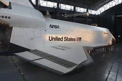 Vue de côté de navette spatiale Image libre de droits