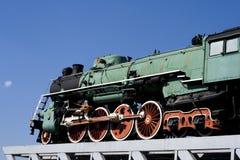 Vue de côté de train de Sooviet images stock