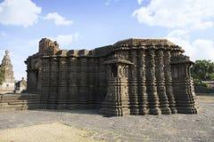 Vue de c?t? droit de temple de Daitya Soudan de Lonar, secteur de Buldhana, maharashtra, Inde photos libres de droits