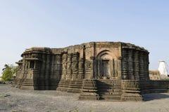 Vue de c?t? gauche de temple de Daitya Soudan de Lonar, secteur de Buldhana, maharashtra, Inde photographie stock