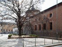 Vue de côté de grazie de delle de Santa Maria d'église photographie stock libre de droits