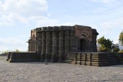 Vue de côté de temple de Daitya Soudan, Lonar, secteur de Buldhana, maharashtra, Inde images stock