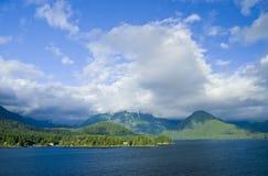 Vue de côte de Sitka Alaska Photographie stock libre de droits