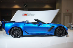 Vue de côté 2015 de Corvette Z06 Photo libre de droits