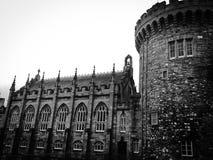 Vue de côté de Dublin Castle Photographie stock