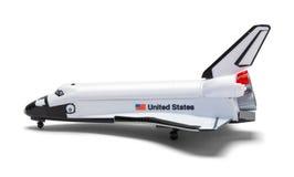 Vue de côté de navette spatiale photographie stock libre de droits