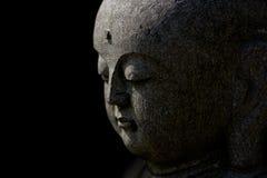 Vue de côté du visage de Bouddha Image libre de droits