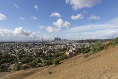 Vue de côté est de Los Angeles Images stock