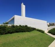 Vue de côté de mosquée, complexe de la tombe d'Arafat Photo stock