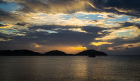 Vue de Côte Est de phuket, Thaïlande Photographie stock
