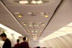 Vue de cabine d'avion à réaction Photo libre de droits