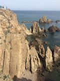 Vue de Cabo De gata photographie stock