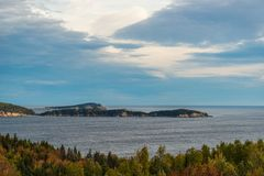 Vue de Cabot Trail Scenic photo stock