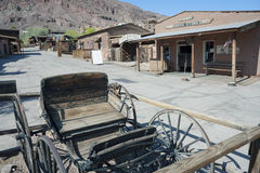 Vue de calicot, la Californie, San Bernardino County Par Image libre de droits