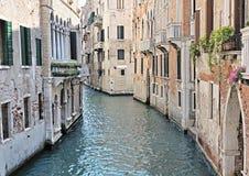 Vue de canal vénitien type Image libre de droits