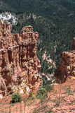 Vue de canyon d'Agua, Bryce Canyon National Park, Utah Photo libre de droits
