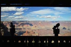 Vue de canyon grand Photographie stock