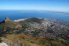 Vue de Capetown Images stock