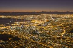Vue de Capetown Afrique du Sud Image libre de droits