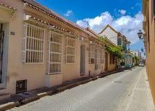 Vue de Carthagène colombia photographie stock libre de droits