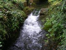 Vue de cascade photographie stock