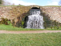 Vue de cascade images stock