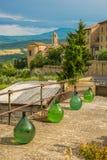 Vue de Castiglione D'Orcia Image libre de droits